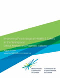 Improving Psychological Health & Safety in the Workplace: Critical analysis and pragmatic options